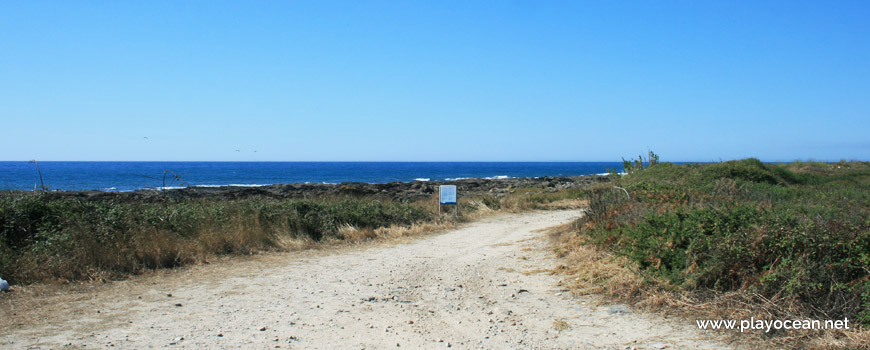Acesso à Praia do Marco Branco