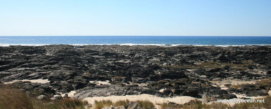 Sea front at Praia do Marco Branco Beach