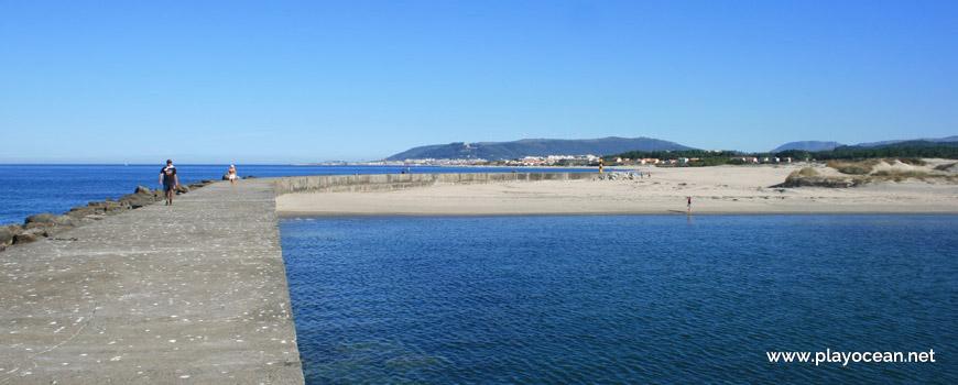 Praia da Pedra Alta vista do pontão