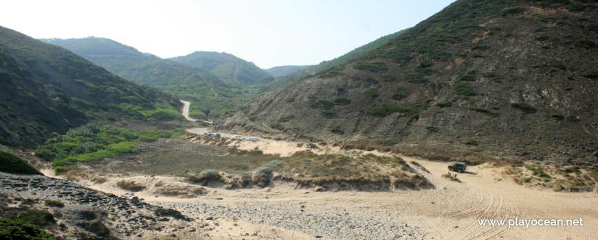 Bed of the Barranco da Barriga Stream