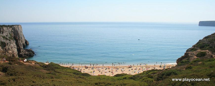 Mar da Praia do Beliche