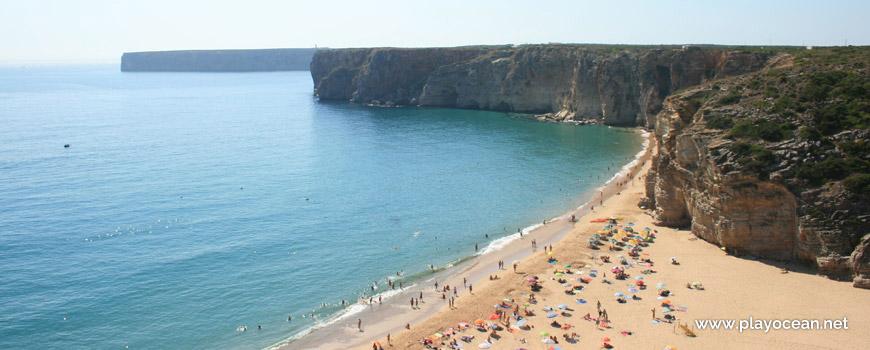Oeste na Praia do Beliche