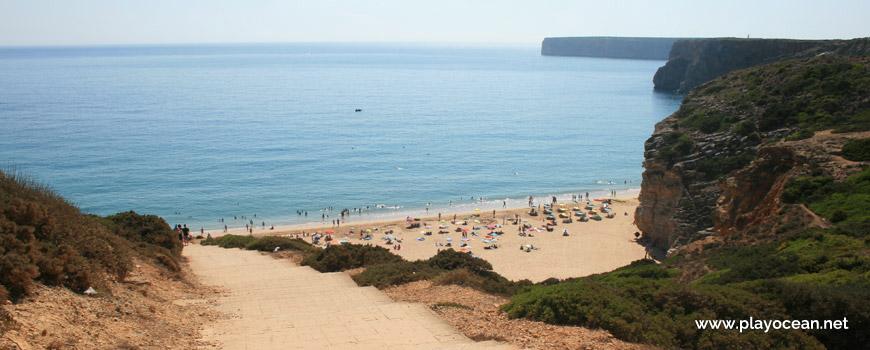 Acesso à Praia do Beliche