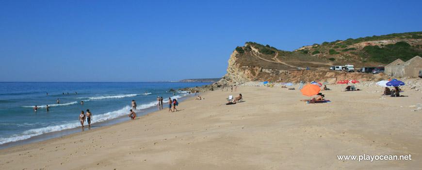 Oeste na Praia da Boca do Rio