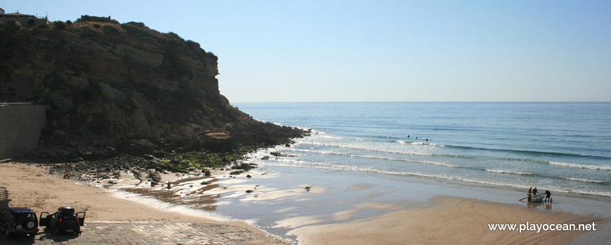 East at Praia do Burgau Beach