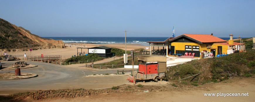 Concessão na Praia da Cordoama