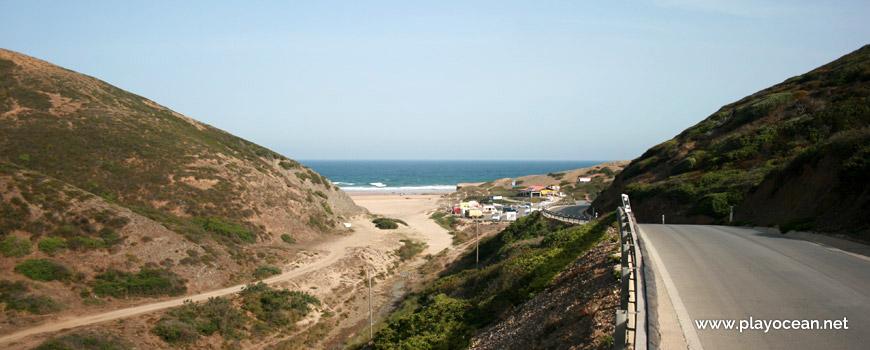 Acesso à Praia da Cordoama