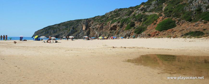 Sand at Praia das Furnas Beach