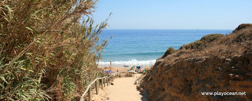 Acesso à Praia da Mareta