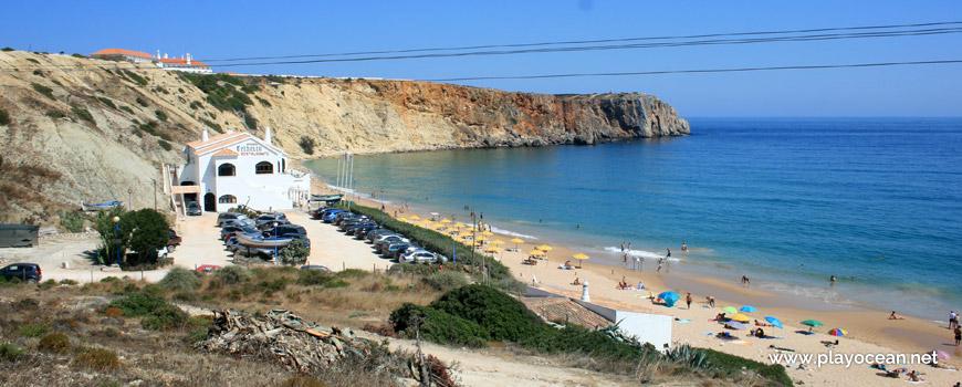 Estacionamento da Praia da Mareta
