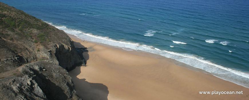 Zona de banhos, Praia dos Mouranitos