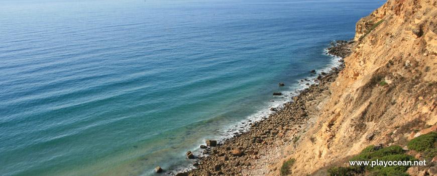 Beira-mar na Praia dos Rebolos
