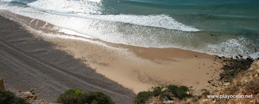 Areal na Praia dos Rebolos