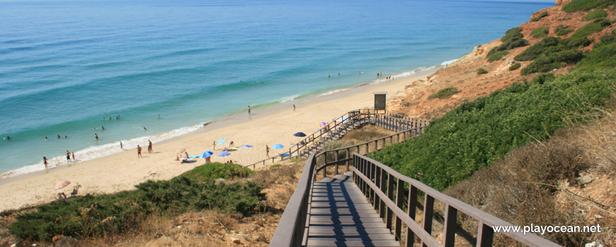 Access to Praia da Salema Beach