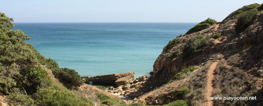 Descida, Praia da Santa