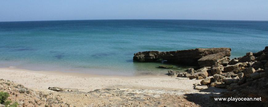 Mar na Praia da Santa