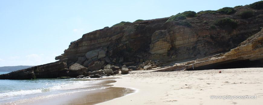 Oeste na Praia da Santa