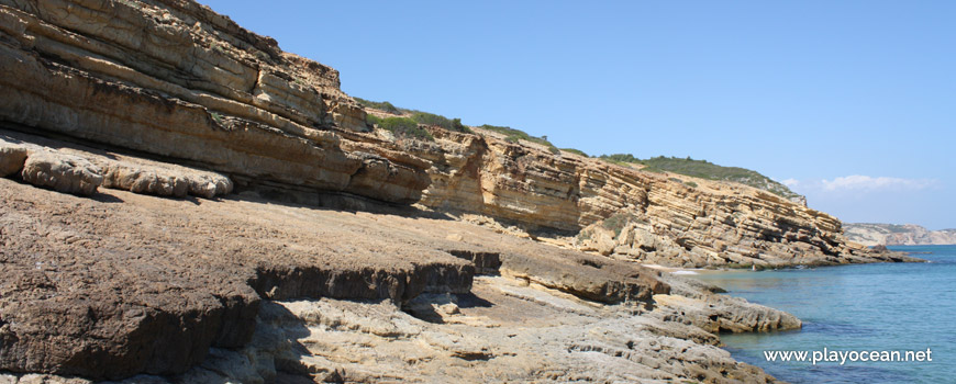 Laje na Praia da Santa