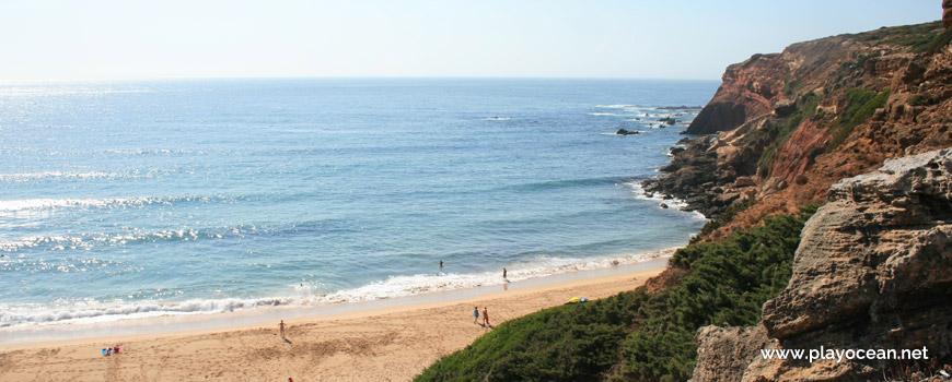 Norte na Praia do Telheiro