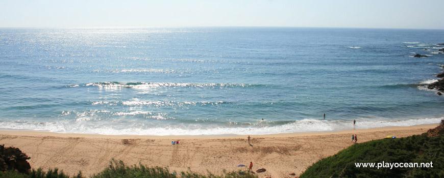 Mar na Praia do Telheiro