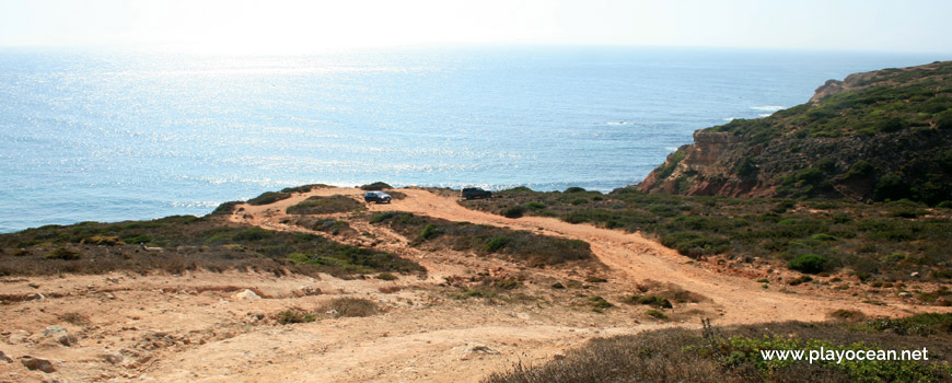 Estacionamento da Praia do Telheiro