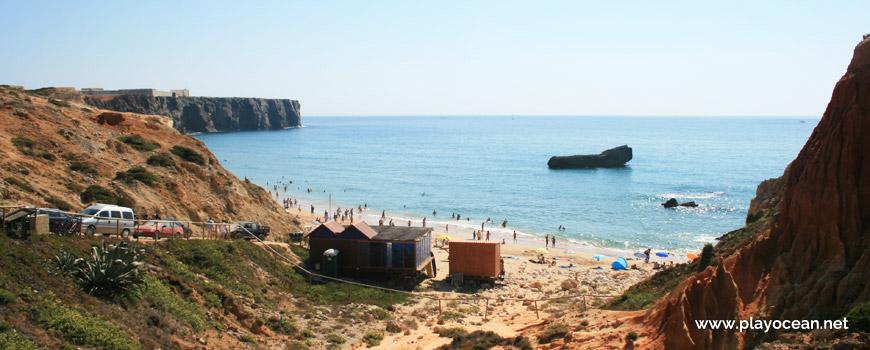 Oeste na Praia do Tonel