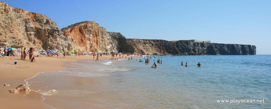 Beira-mar na Praia do Tonel