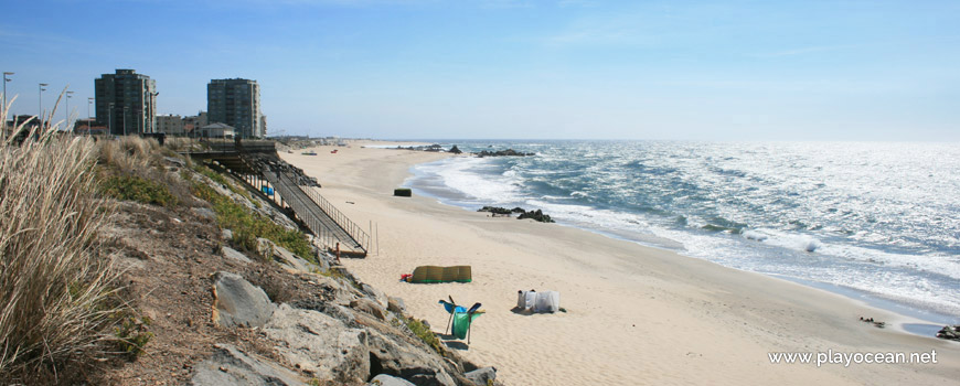 Sul da Praia das Caxinas