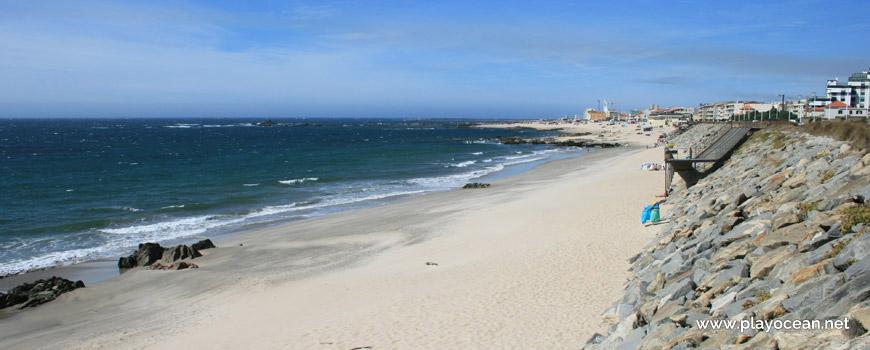 Norte da Praia das Caxinas