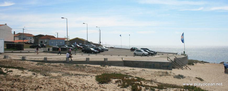 Parking of Praia da Congreira Beach