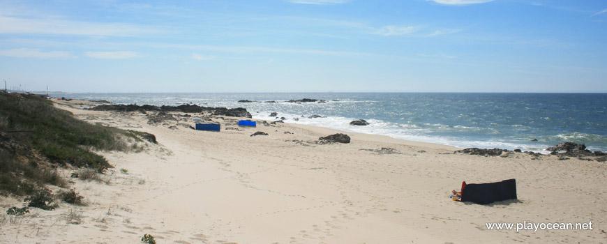Rocks at Praia da Congreira Beach