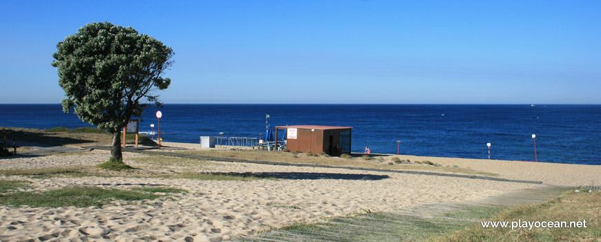 Entrance of Praia de Labruge Beach