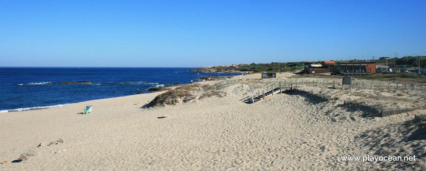 North of Praia de Labruge Beach