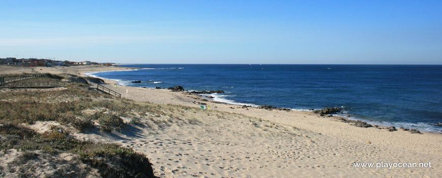South of Praia de Labruge Beach