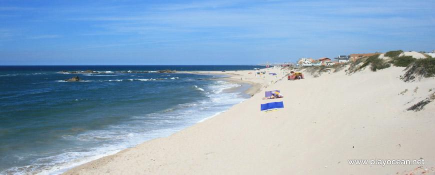 Norte da Praia de Mindelo (Sul)