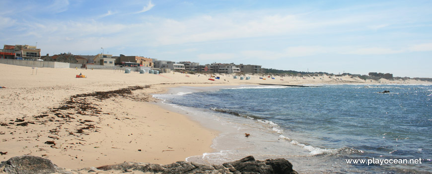Seaside of Praia de Mindelo Beach