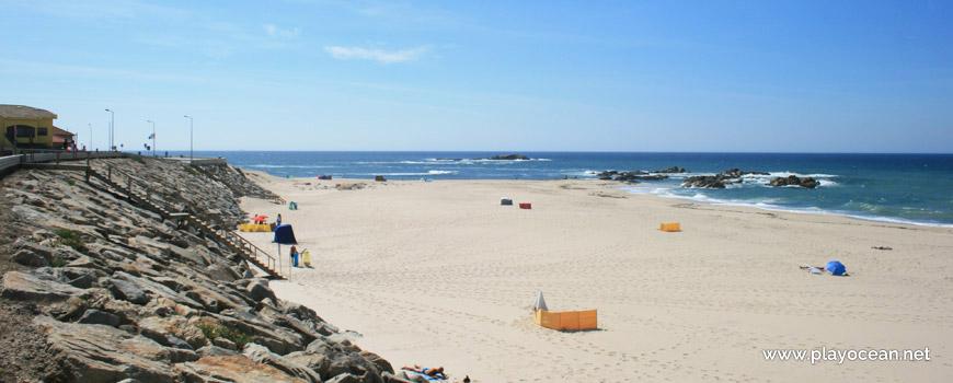 South of Praia de Mindelo Beach