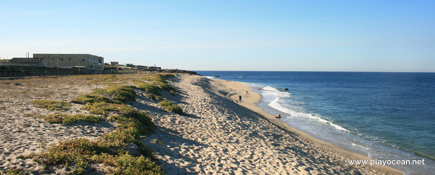 South of Praia de Moreiró (North) Beach