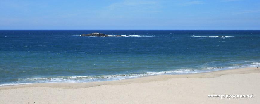 Mar na Praia do Pinhal dos Eléctricos
