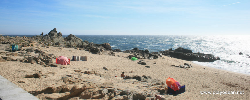 Rochas na Praia do Seca