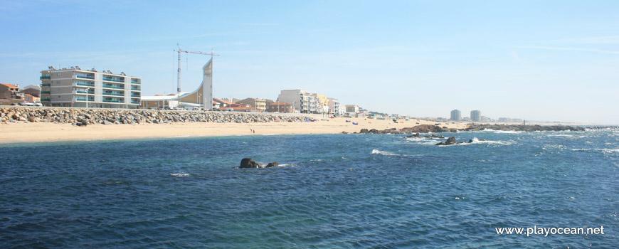 Panoramic of Praia do Senhor dos Navegantes Beach