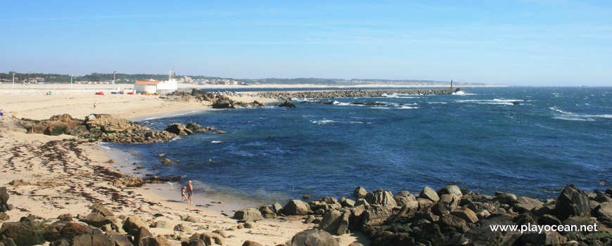 Mar na Praia da Senhora da Guia
