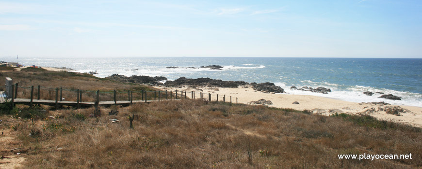 View to Praia da Terra Nova Beach