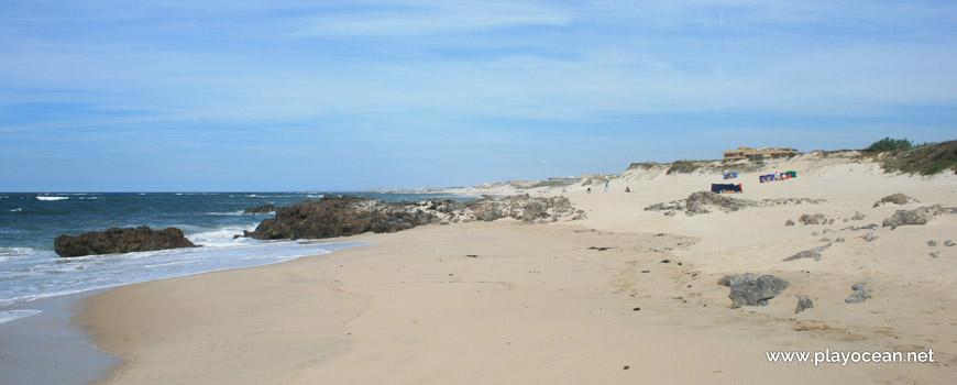 North of Praia da Terra Nova Beach