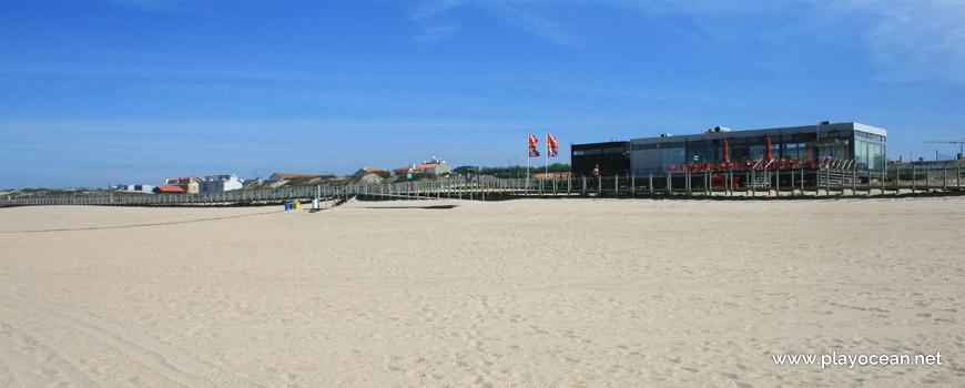 Bar at Praia da Aguda Beach