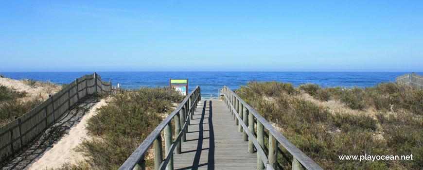Access to Praia da Areia Branca Beach