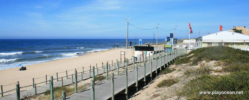 Passadiços na Praia de Bocamar