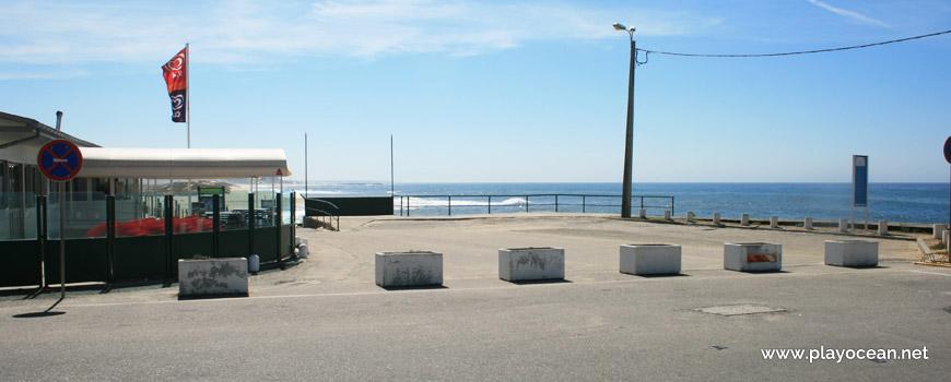 Entrance of Praia de Bocamar Beach