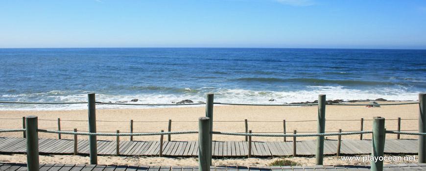 Sea at Praia de Bocamar Beach