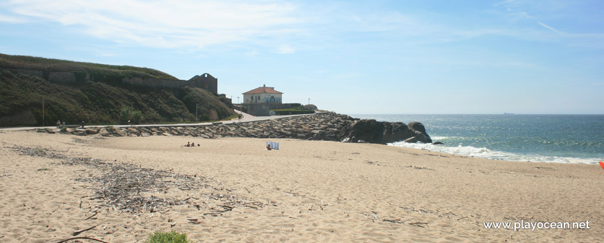South of Praia do Cabedelo do Douro Beach